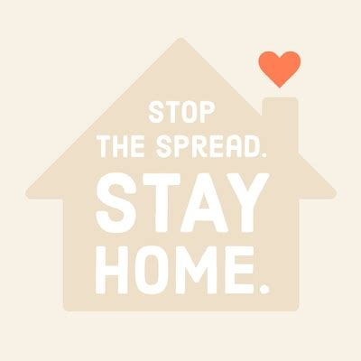 stay home stay safe quote posters images adobe spark