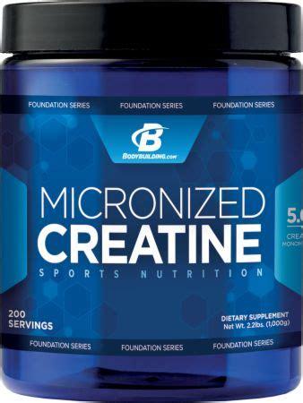 creatine bodybuilding micronized creatine by bodybuilding foundation series