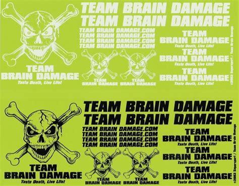 Decal Stiker New Cbr150r White Rc Green Lime team brain damage