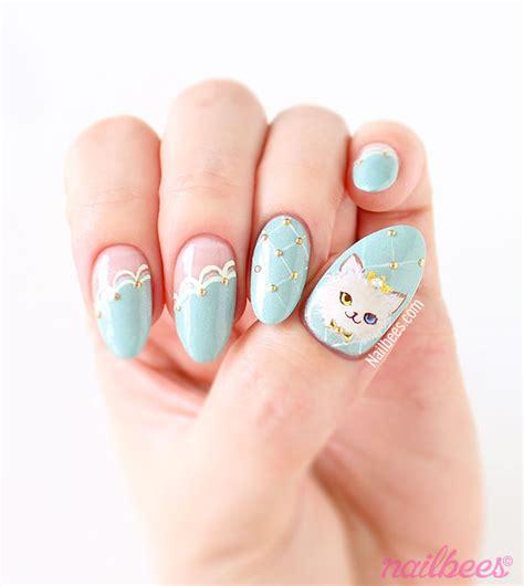 ragdoll nails cat princess nail nailbees