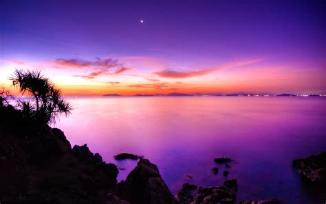 untamed sunset in the caribbean hd wallpaper hd wallpapers sunset moonrise wallpapers hd wallpapers id 12839