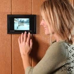 Front Door With Peephole Digital Door Viewer Modernizes The Security Peephole