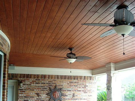 vaulted pine tongue and groove ceiling patio cover i