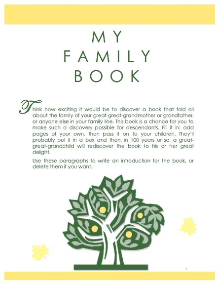 family record template family tree template family history record template