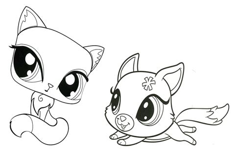 littlest pet shop coloring page littlest pet shop coloring pages az coloring pages