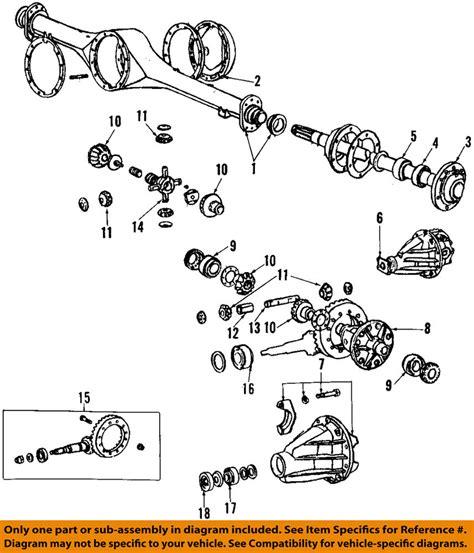 Rotor Abs Roda Avanza toyota oem 84 95 rear axle seals 9031050006 7262318385856 ebay