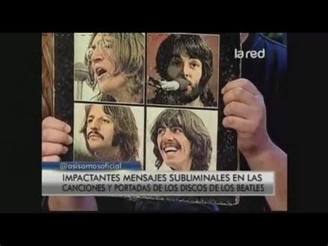 Mensajes Subliminales Beatles | salfate mensajes subliminales en las canciones y