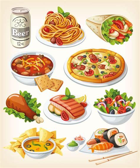 519 best food illustrations images on pinterest food