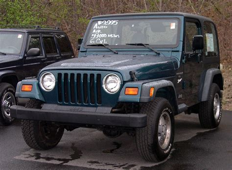 Jeep Sports File Jeep Tj Wrangler Sport Jpg Wikimedia Commons