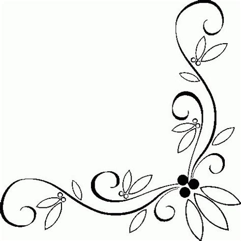borders christmas border clipart black and white free