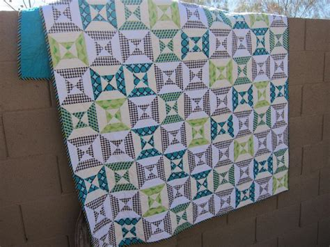 Hourglass Quilt by You To See Hourglass Quilt For Boy On Craftsy