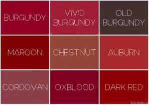 burgundy hair color chart burgundy hair color chart