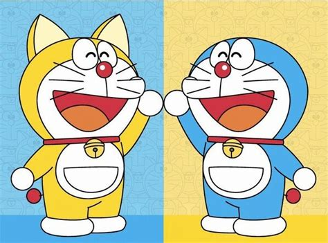 Doraemon Biru lihat mula kisah doraemon berwarna biru tidak memiliki