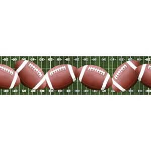 Nautical Wall Murals footballs across the football field peel amp stick wallpaper