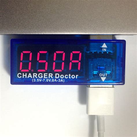 Usb Charger Doctor usb charger doctor in line voltage and current meter