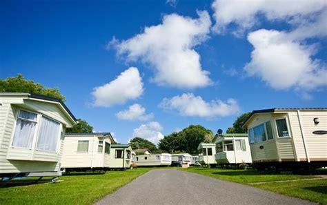 Caravan Balconies by Manorbier Country Park Tenby Campground Reviews