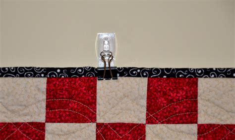 rikrax cheap easy way to hang a quilt