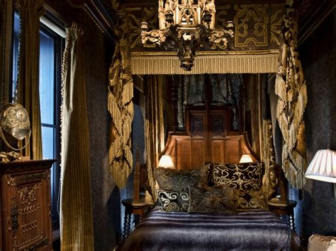 gothic inspired bedroom four poster beds the perfect 10