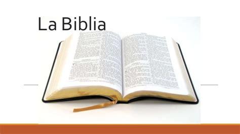una biblia the generalidades de la biblia