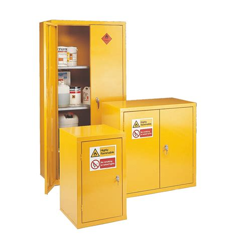 flammable storage cabinets with 2 doors and 2 shelves