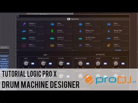 drum machine tutorial youtube tutorial logic pro x drum machine designer youtube