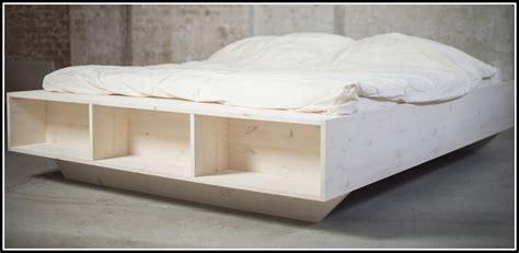 Bett Mit Hohem Rahmen by Bett Ohne Rahmen Selber Bauen Betten House Und Dekor