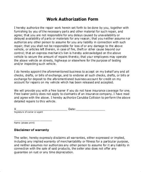 contract for work to be performed template image