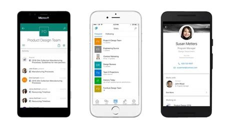android app mobile new microsoft sharepoint mobile apps coming to windows