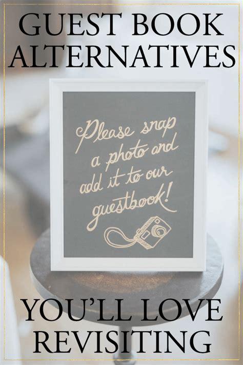5 Creative Wedding Guest Book Alternatives You?ll Love