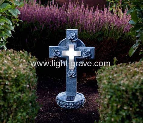 solar lights for cemetery solar resin cross grave light solar grave light solar