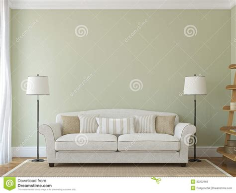 empty couch modern living room royalty free stock images image 32202169