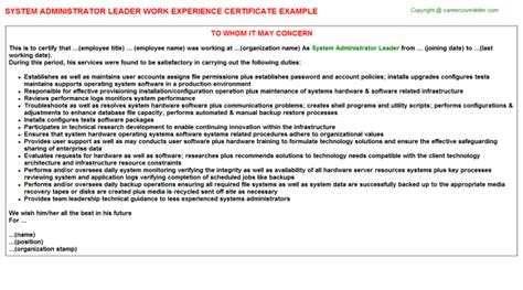 resume title for system administrator resume ideas