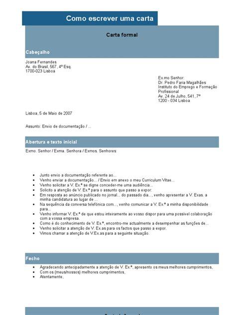 Carta Formal E Informal Yahoo by Carta Formal E Informal