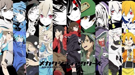 wallpaper anime mekakucity actors mekaku city actors wallpaper by plumenoare on deviantart