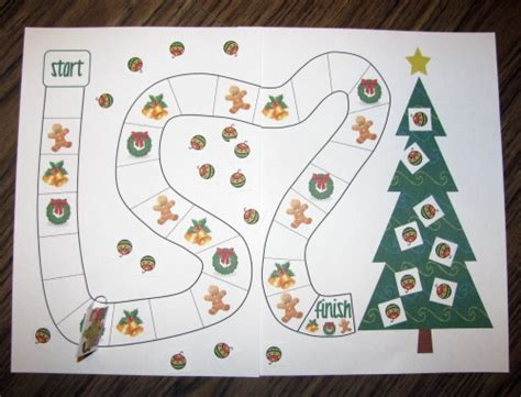 printable christmas board games decorate the christmas tree free cooperative game