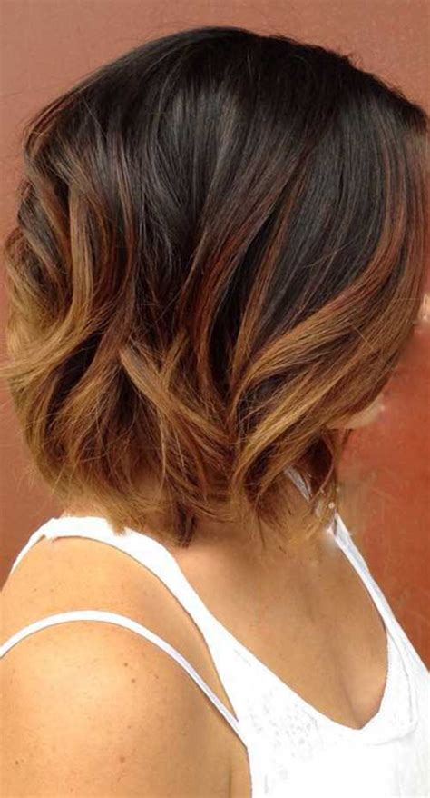 color 8 hair unique colored bob hairstyles you should see bob