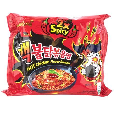 Md Samyang 2x Spicy Spicy samyang chicken 2x spicy ramen 4 93 oz ramen