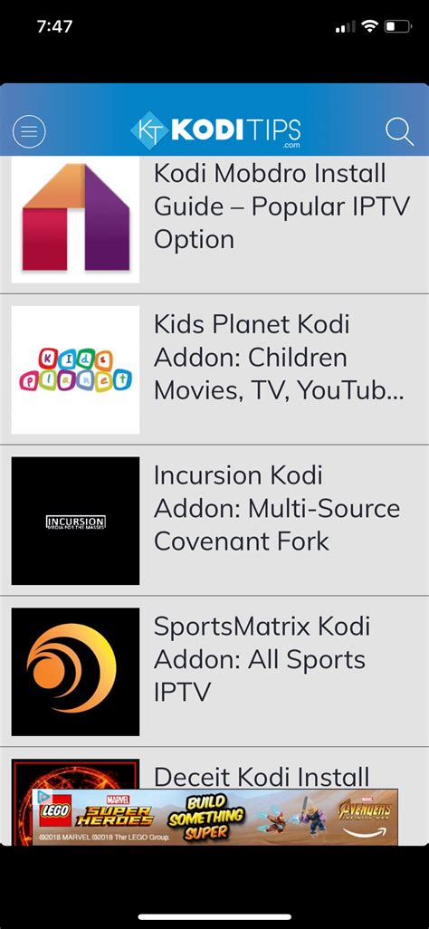 Tips Downloads by The Kodi Tips App Live Kodi Updates To Your Phone
