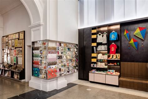 museum design companies london v a museum shop by friend and company london uk