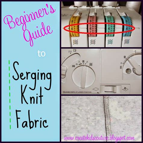 serger settings for knits 25 best ideas about serger sewing projects on
