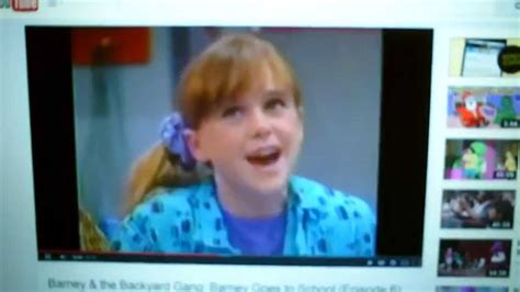 Barney And The Backyard Gang Youtube Aligator Pie Youtube