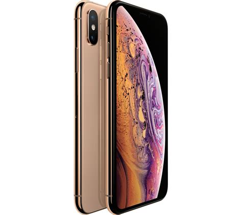 buy apple iphone xs  gb gold  delivery currys