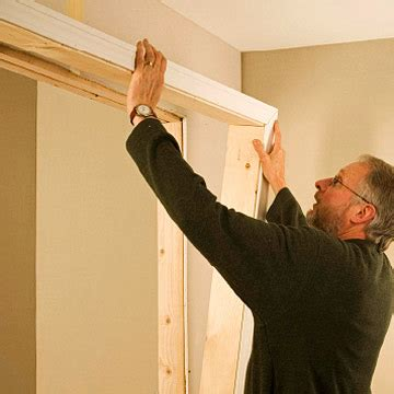 Closet Door Frame Framing For Closet Doors How To Install House Doors Diy Advice