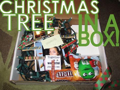 christmas tree   box  printable christmas tree box christmas care package
