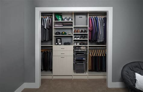 prepossessing reach in closet storage ideas roselawnlutheran