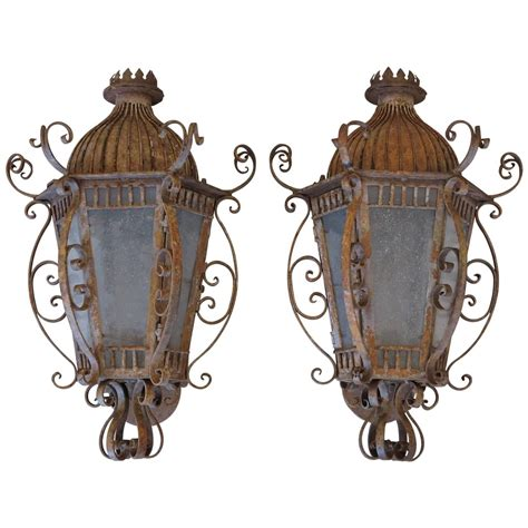 Iron Wall Sconce Wrought Iron Sconces Wrought Iron Wall Sconce At 1stdibs Renaud Rustic Wrought Iron