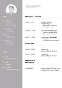 Vorlagen Modern Lebenslauf Vorlage Modern Tabellarisch Hellgrau Bewerbung