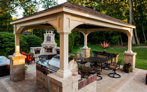 covered gazebo pergola covered structure or pavilion how to which
