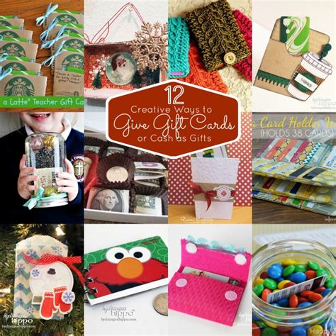 Creative Ways To Give A Gift Card - 12 creative ways to give gift cards