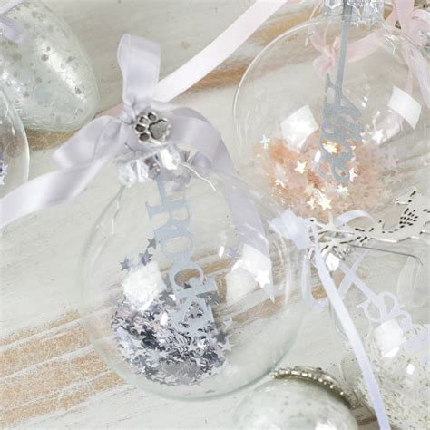 glass baubles australia personalised papercut glass bauble by studio seed